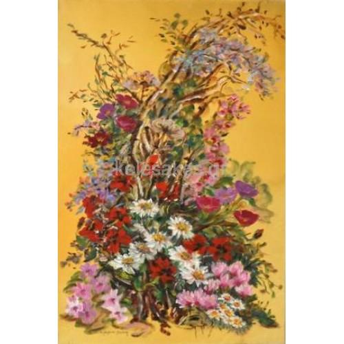 Πίνακας Ζωγραφικής-Ανθοσυνθέσεις & Λουλούδια