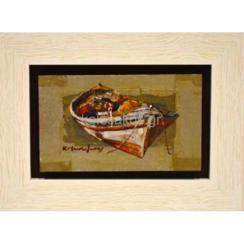Πίνακας Ζωγραφικής- Θαλασσογραφίες-Νησιά