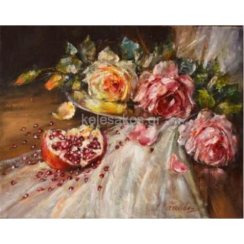 Πίνακας Ζωγραφικής-Νεκρή Φύση