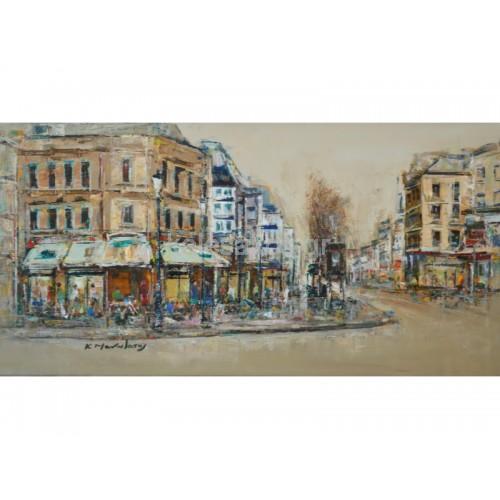 Πίνακας Ζωγραφικής-Πόλεις