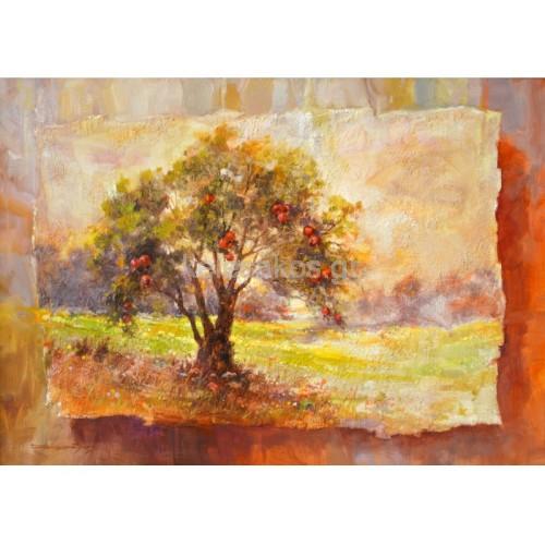 Πίνακας Ζωγραφικής - Τοπία και δέντρα